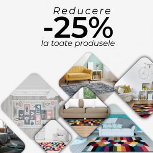 VreauCovor.ro a dat START reducerilor de -25% la toate articolele