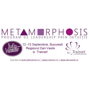 Early Bird Call | METAMORPHOSIS, dezvoltare organizațională prin intuiție, 12 – 13 septembrie