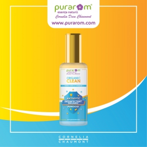 AROM ORGANIC CLEAN. DEZINFECTANT NATURAL