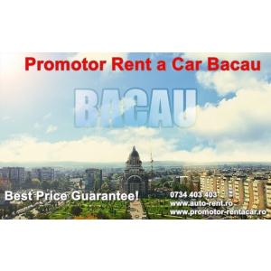 Promotor Rent a Car Bacau