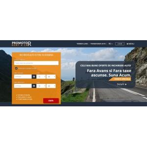 Promotor Rent a Car lanseaza un nou site, mai accesibil si mai usor de folosit in 5 limbi de circulatie internationala