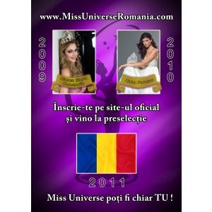 bucureȘti . Miss Universe Romania 2011