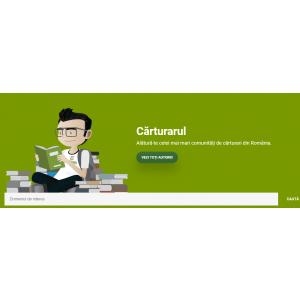 Carturarul.ro - o noua platforma care prezinta recenzii de carti