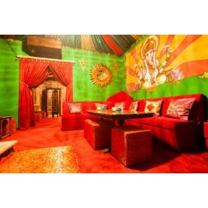 cafenea. Ganesha – simbolul hindus in jurul caruia isi tese povestea o frumoasa cafenea din Bucuresti