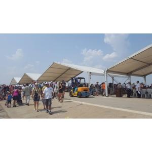 Event Stuff – pentru a  patra oara integrator de logistica al Bucharest International Air Show