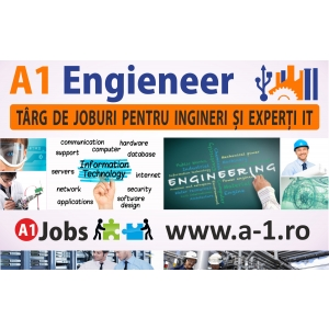 AppFlower Engine. A1 Engineer - Targ de joburi pentru ingineri si experti IT