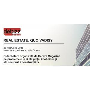 Invitație la evenimentul pe teme imobiliare REAL ESTATE, QUO VADIS?