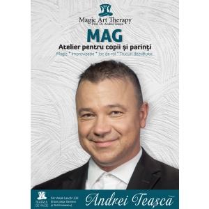 Andrei Teașcă lansează MAG, un atelier ce combină magia cu art terapia, având premiera pe 24 noiembrie