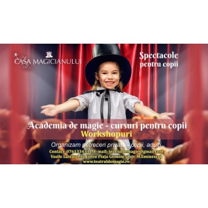 Casa Magicianului by Teatrul de Magie, un spaţiu magic pentru spectacole de magie şi aniversari