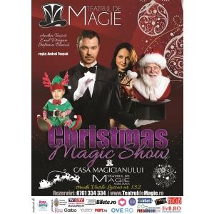 casa magicianului. Afisul Spectacolului Christmas Magic Show