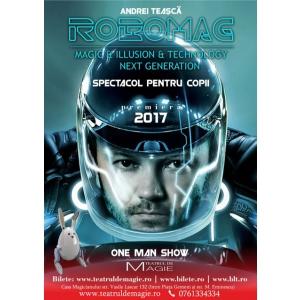 Afisul spectacolului RoboMag