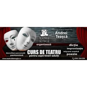 Teatrul de Magie – Cursuri de Teatru şi Improvizaţie