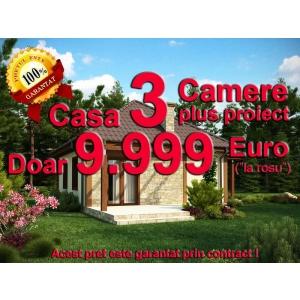 cea mai ieftina casa. Doar 9.999 Euro pentru Casa cu 3 Camere - Cea mai ieftina casa din Romania este din Beton Armat si Caramida  Citeste mai mult: Comunicate de Presa