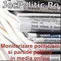Monitorizare politicieni si partide politice in media online