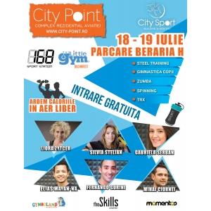 Pe 18-19 iulie, complexul rezidential City Point da startul primei editii City Sport.