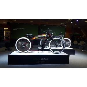 """BizzeBikes prezinta, in premiera, la Salonul Bicicletei din Bucuresti,  prima bicicleta electrica romaneasca de tip """"chopper"""""""