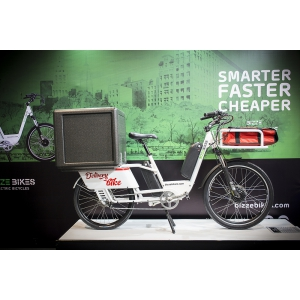 Românii de la BizzeBikes lansează bicicleta electrică  destinată livrărilor la domiciliu, în cadrul Eurobike 2018