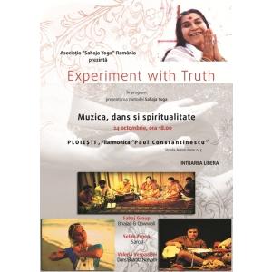 Experiment with Truth – turneu de muzică, dans şi spiritualitate