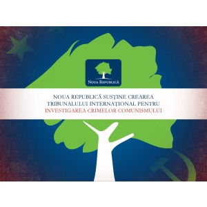 white collar crime. Noua Republică susţine crearea Tribunalului Internaţional pentru Investigarea Crimelor Comunismului