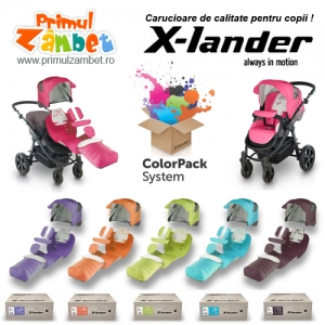 carucioare copii de calitate. Carucioare copii de calitate X-lander cu Color Pack