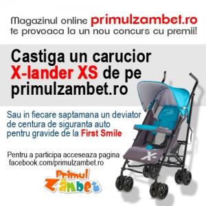 x-lander. Concurs Facebook - Primul Zambet