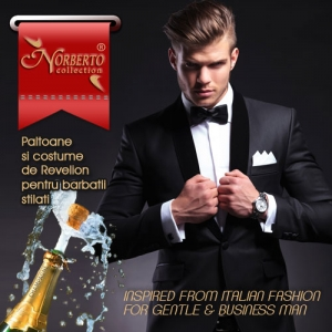 costume barbatii online. Costume de Revelion – Norberto Collection