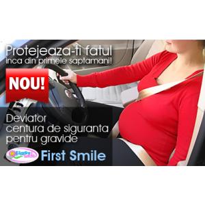 gravide. Deviator centura de siguranta pentru gravide - First Smile