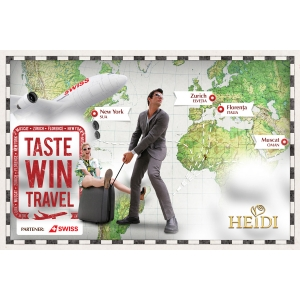 campanie oms. Taste, Win, Travel