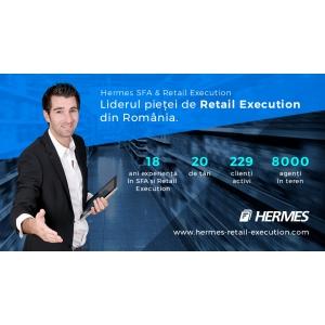 Hermes Mobile – liderul pieței  de Retail Execution din România