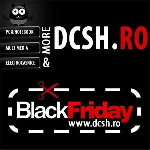black friday electrocasnice. DCSH Outlet – dcsh.ro participa la Black Friday 2014, pe 21 noiembrie, acum cu reduceri incredibile de pana la 80% pentru electrocasnice si nu numai!