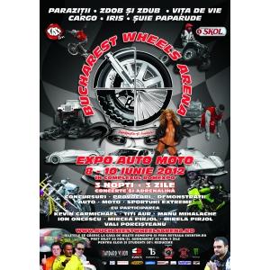 Bucharest Wheels Arena Cel mai mare festival auto-moto/sporturi extreme din România  8-10 iunie 2012