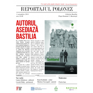 gottland. Celebrul reporter Mariusz Szczygieł vine la București pentru a-și întâlni cititorii