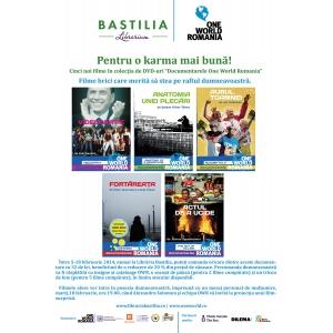 """dvd-uri. Cinci noi filme în colecţia de DVD-uri """"Documentarele One World Romania"""""""