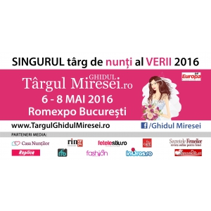 Ghidul Michelin. Targul Ghidul Miresei, 6-8 mai 2016, Romexpo Bucuresti: Nunta perfecta organizata intr-o zi!