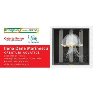 """11.06.2018 – Vernisaj expoziţie """"CREATURI ACVATICE"""" – Galeria de Artă SENSO"""