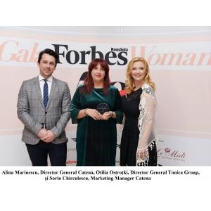 """Anca Vlad, desemnată """"Cea mai influentă personalitate din Business"""" la Gala Forbes Woman 2018"""