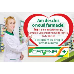 Catena a deschis o noua farmacie in Iasi