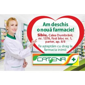 Catena a deschis o noua farmacie in Sibiu