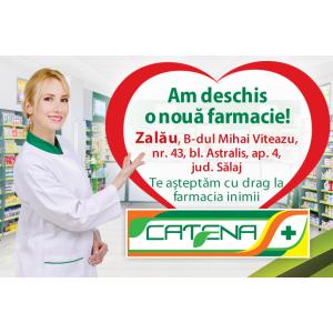 Catena a deschis o noua farmacie in Zalau