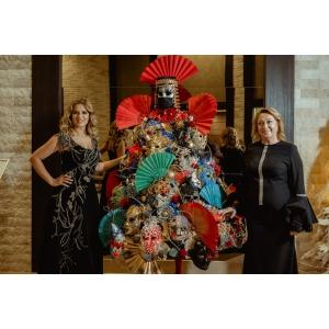 Catena, alături de copiii din medii defavorizate, la Festivalul Brazilor de Crăciun 2020