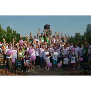 "CATENA, ""Cea mai inimoasa echipa"" la Happy Run - Race for the Cure Romania!"