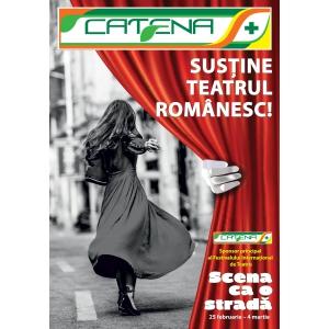 CATENA, sponsor oficial al Festivalului Internațional de Teatru  ,,Scena ca o stradă'' - Reşiţa