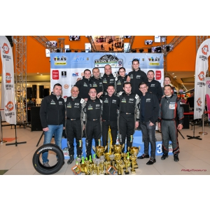 CATENA susține campionii!  10 podiumuri pentru membrii echipei DTO Tellur Rally Team