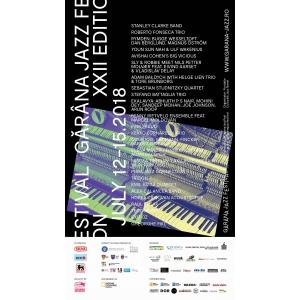gărâna jazz festival 2018. afis