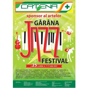 Catena susține Gărâna Jazz Festival XXV, cel mai important festival de open air jazz din Europa Centrală și de Est
