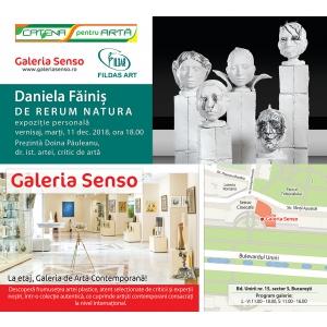 Ceramista Daniela Făiniş deschide o amplă expoziție la Galeria Senso
