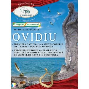 Evenimentul cultural OVIDIUS – 2.000 de ani de la moartea autorului Ponticelor