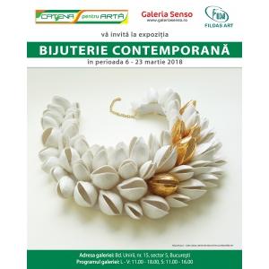 """Galeria SENSO București vă invită la expoziţia """"BIJUTERIE CONTEMPORANĂ"""""""