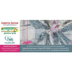 târgul art safari 2017. Galeria SENSO, la Târgul ART SAFARI 2017, ediţia a IV-a  Galeria SENSO participă şi promovează artistul plastic  Ana Ştefania Andronic  BUZU, 25 – 28 mai 2017