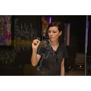 Galeria Senso prezintă la Târgul Internaţional de Artă Paper Positions Basel expoziţia personală a artistei Ana Ştefania Andronic (BUZU)
